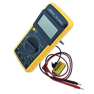 AC DC Amperemeter Voltmeter Ohm elektrische Tester Meter Profi Digital Multimeter DT9205A