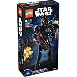 LEGO Star Wars - Figura para construir del Piloto de Elite TIE Fighter (75526)