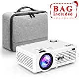 Best Micro Projectors - QKK 2200 Lumens LCD Projector, Mini Home Theater Review