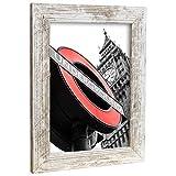 Bilderrahmen Fotorahmen 80x100 cm Vintage bilderrahmen zum aufhängen MDF Picture Frames Farbe und 40 Verschiedene Größen wählbar ohne Passepartout Rahmen London