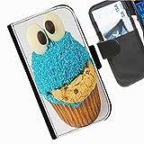 Hairyworm- Kuchen Seiten Leder-Schützhülle für das Handy Sony Xperia L (C2105, C2104)