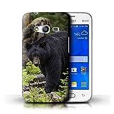 Stuff4 Coque de Coque pour Samsung Galaxy Trend 2 Lite/G318 / Ours Noir...