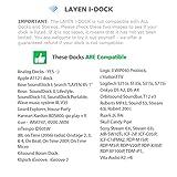 LAYEN i-DOCK 4.1 Bluetooth-Funkadapter Stereo-Musikempfänger. AptX & Dual Pair. Stream von Ihrem Smartphone, Tablet oder Laptop (nicht für Autos geeignet) für LAYEN i-DOCK 4.1 Bluetooth-Funkadapter Stereo-Musikempfänger. AptX & Dual Pair. Stream von Ihrem Smartphone, Tablet oder Laptop (nicht für Autos geeignet)