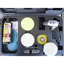 Kit mini pulidora neumática reparación de chapa y faros