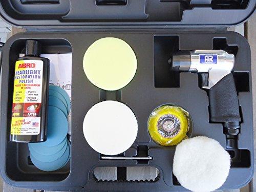 Kit para pulir faros, chapas y neumáticos AR