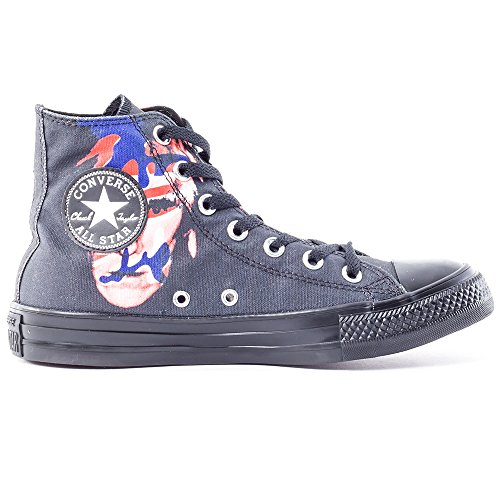 Converse  All Star Prem Hi Warhol Canvas, Baskets pour femme - noir Nero/Rosso/Blu