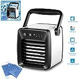 SayHia - Mini Ventilatore Portatile per climatizzazione, Ricarica USB Portatile, Silenzioso, per casa, Ufficio o Camera da Letto