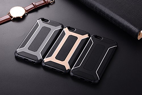 AddGuan iPhone 8/7 Plus Case,Armatura Robusta Protezione Ultra sottile Case Adatto per iPhone 8/7 Plus Case(Nero) Nero