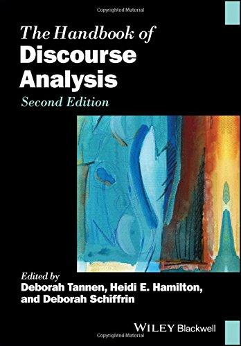 The Handbook of Discourse Analysis (Blackwell Handbooks in Linguistics) por Deborah Tannen