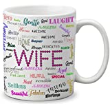 Vespl Lof Gifts For Wife For Birthday Anniversary Gifts Love Gifts For Valentine 325 Ml Ceramic Coffee Mug