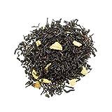 Aromas de Té - Té Rojo Pu Erh Adelgazante con Sabor y Aroma Limón Y Canela/Té Pu Erh Digestivo de Limón y Canela, 100 gr