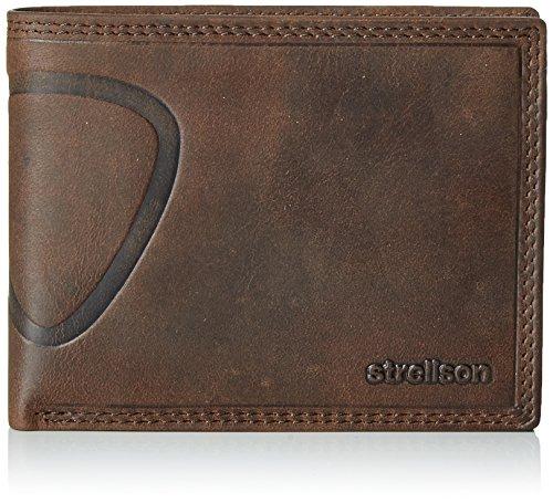 Strellson Baker Street Billfold H7 4010000048 Herren Geldbörsen 13x10x1 cm (B x H x T), Braun (dark brown 702)