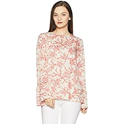 VERO MODA Women's Body Blouse Top (10189804_Snow White_X-Large)