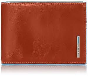 Piquadro Porte-monnaie, Arancione/Sabbia (Multicolore) - PU1392B2/ARSA