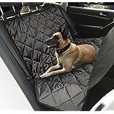 """Topist Hundedecke Auto, Wasserdicht Autoschondecke für Hunde Anti-Rutsch Hunde Autodecke, Super Weich Kofferraumschutz Hunde für Auto SUV, mit Ein Haustier Sicherheitsgurt - 63.8"""" x 55"""""""