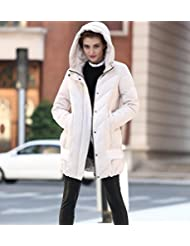 YRF Robes de l'hiver. Veste à capuchon manches longues. Couche épaisse doudoune