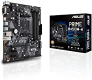 اسوس برايم B450M-A/CSM AMD رايزن 2 AM4 DDR4 HDMI DVI في جي ايه M.2 يو اس بي 3.1، الجيل 2 ماتكس