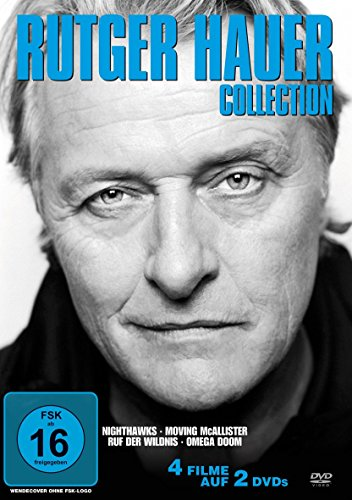 Rutger Hauer Collection : Nighthawks (Nachtfalken) / Moving McAllister / Ruf der Wildnis / Omega Doom [2 DVDs]