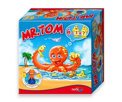 Noris Spiele 606017325 - Mr. Tom, Kinderspiel