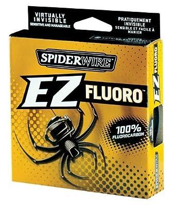 Spiderwire EZ Fluorocarbon Line 200yd Breaking Strains 6lb - 15lb Carp Coarse Game Fishing Line by Spiderwire