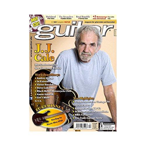 Guitar 10 2013 mit CD - J. J. Cale - Interviews - Gitarre Workshops - Gitarre Playalongs - Gitarre Test und Technik