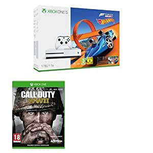 Xbox One S (1TB) with Forza Horizon 3 and Hot Wheels + Call of Duty: WWII