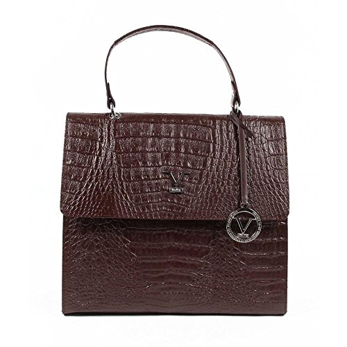 Versace 19.69 Abbigliamento Sportivo Srl Milano Italia Womens Handbag ARC05 AGATA COCCO BORDEAUX Bordeaux