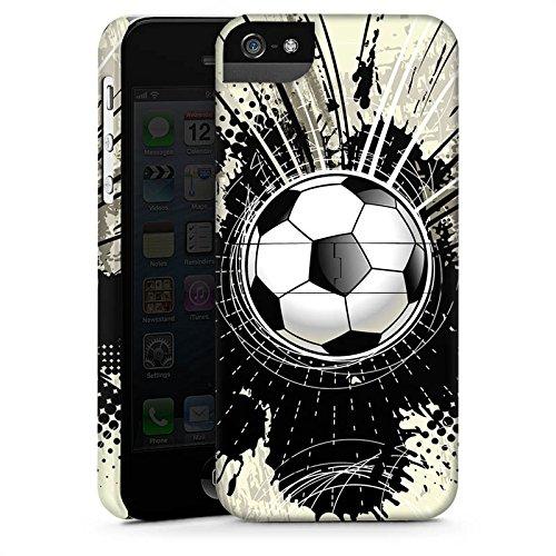 Apple iPhone X Silikon Hülle Case Schutzhülle Fußball Sport Klecks Premium Case StandUp