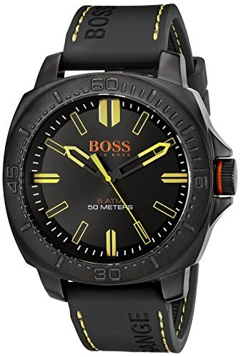 boss-orange-mens-1513249-sao-paulo-black-stainless-steel-watch-with-silicone-band-by-hugo-boss