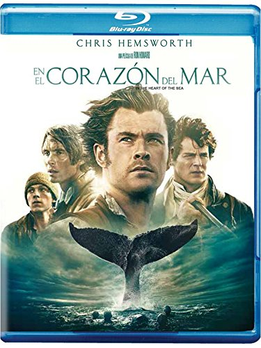 En El Corazon Del Mar Chris Hemsworth Pelicula Blu-ray + Dvd