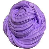 ultnice Fluffy floam Slime Cotton Mud Toys Aroma Stress Relief Kids schlampe juguete Lila
