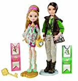 Ever After High – bfx05 – Puppe – Coffret Duo Ashlynn Ella und Hunter Huntsman