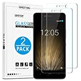 OMOTON [2 Pack] BQ Aquaris U Plus Screen Protector,
