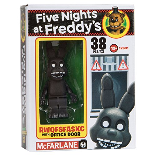 Image of McFarlane Toys Five Nights At Freddy's Office Door Construction Building Kit
