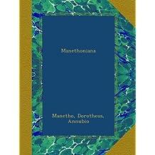 Manethoniana