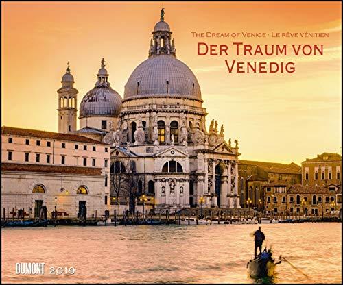 Der Traum von Venedig 2019 - Wandkalender 58,4 x 48,5 cm - Spiralbindung