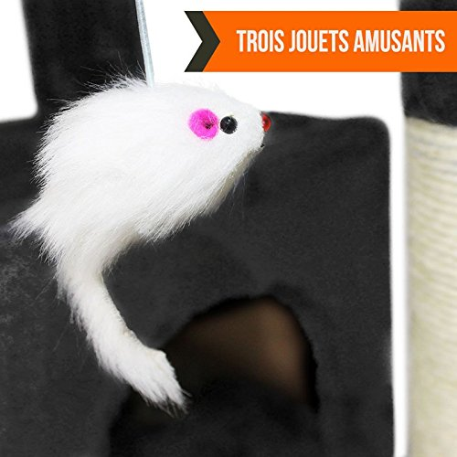 Arbre à chat géant 170 cm - Arbre à chat pas cher - 5 couleurs