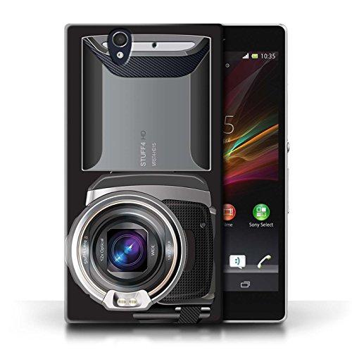 Coque en plastique pour Sony Xperia Z Collection Appareil Photo - Millésime Caméscope