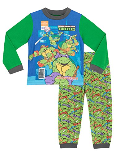 Teenage Mutant Ninja Turtles Jungen Ninja Turtles Schlafanzug 122