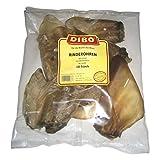 DIBO Rinderohren, 2 x 10er-Beutel, der kleine Naturkau-Snack oder Leckerli für...