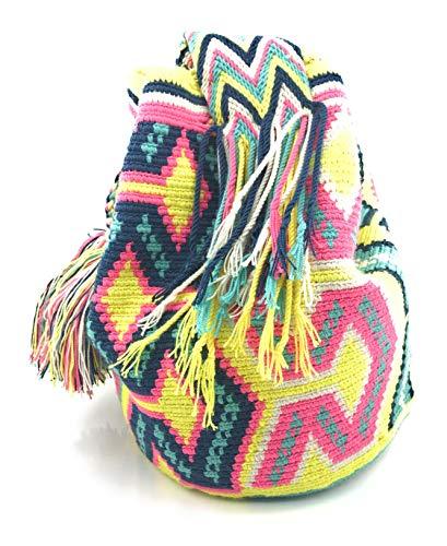 2acf81ff1 COLOMBIAN STYLE Bolsos Colombianos Artesanales de diseño unico, mochila  Wayuu tanto para.