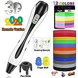 Le stylo 3D laissez votre enfant s'exprimer avec plus de créativité.   lovebay 3D stylo d'impression utilise la nouvelle version qui vous apporte une meilleure expérience de dessin 3D.  Le stylo d'imprimante 3D remplace l'encre avec du plastique, qui...