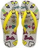 Barbie Girl's Flip-Flops-13 Kids UK/India (32 EU) (BBPGFF2155 Grey)