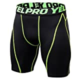 Bonboho Männer Sporthose Sweat Short Kurze Hose Sweatpant Badeshorts Training Shorts Splice Sport Bodybuilding Sommer Workout Fitness Gym Atmungsaktive Slips Hosen