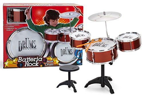 Drum-factory (Globo Toys Globo-36810Factory Sound Drums Spielset)