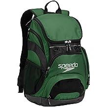 Speedo T-KIT Teamster Mochila, Unisex Adulto, Verde (Forest Green), 35 l