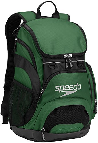 Speedo T-KIT Teamster Mochila, Unisex Adulto, Verde (Forest Green), 35 l
