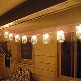 Solare bottiglie di luce quirlandes di colore della copertura ändernde Ala Luci Led tè lanterne decorative Giardini sospese bottiglie d' aria decorati bricolage, in piena aria, barbecue, Serate, Feste di Natale, matrimoni, le vacanze,–bianco caldo