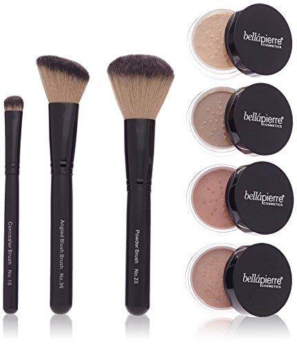 BellaPierre Get Started Foundation Makeup-Set, Dark (dunkel)