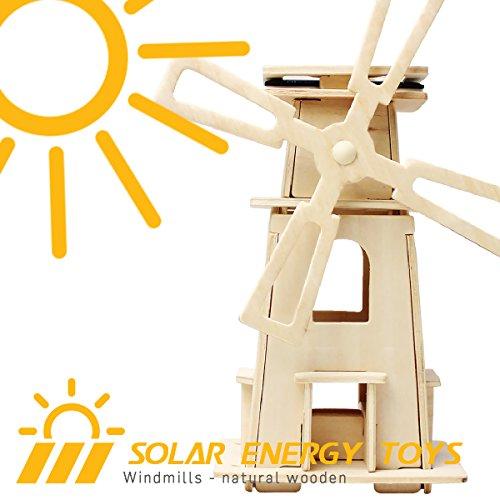 ROBOTIME Jouets ¨¦ducatifs en 3D en bois pour enfants et gar?ons Moulin ¨¤ vent (Windmill-3)